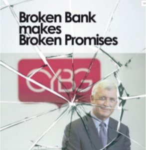 David Duffy CYBG Virgin Money, Broken Bank Broken Promises